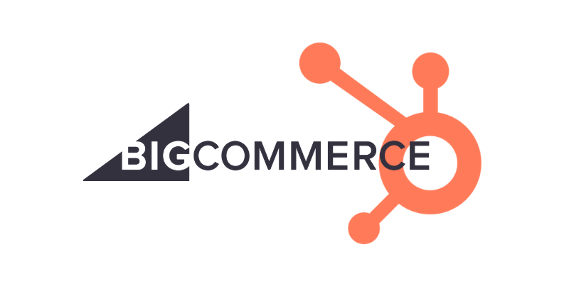 Hubspot integrations page- bigcommerce