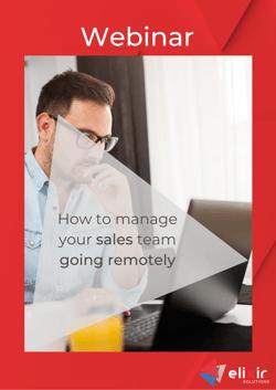 Remote selling webinar